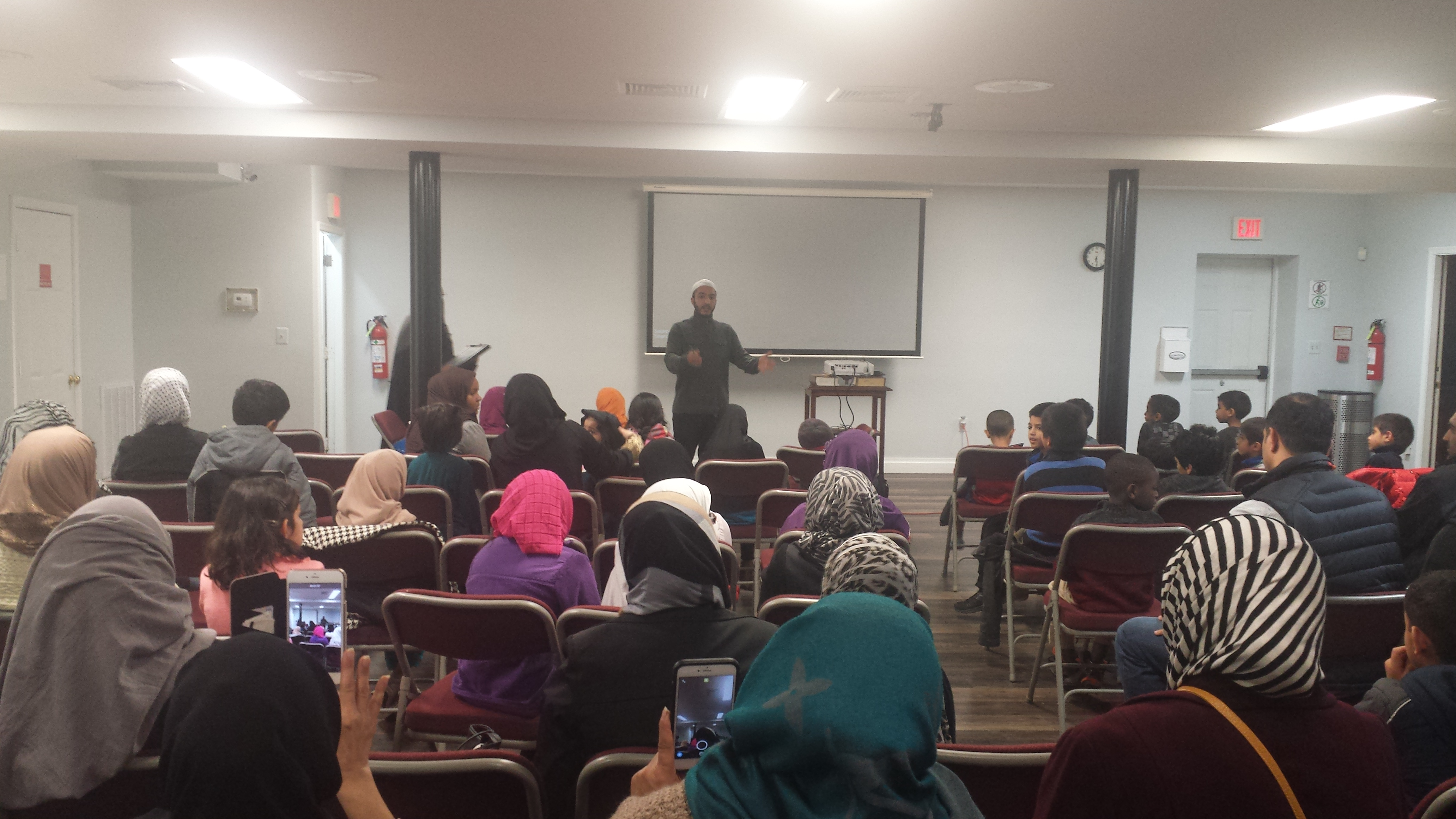 Qur'an and Islamic Studies 1st Quarter Film and Pizza Party