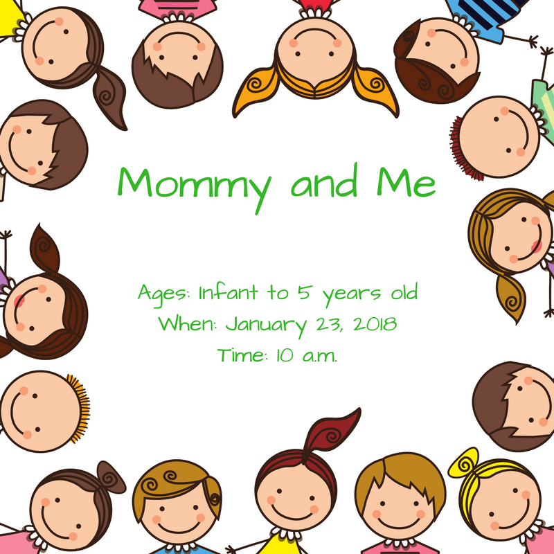 Mommy and Me Classes offered at Mustafa Center